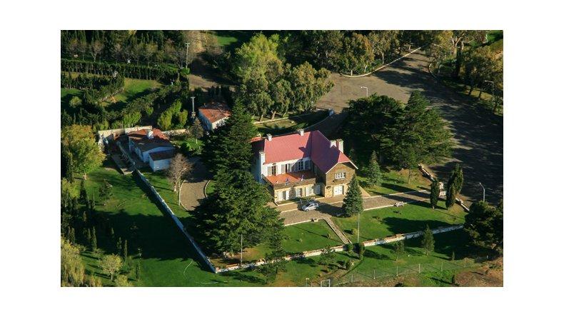El chalet huergo y su jard n monumento hist rico nacional for Jardin 421 comodoro rivadavia