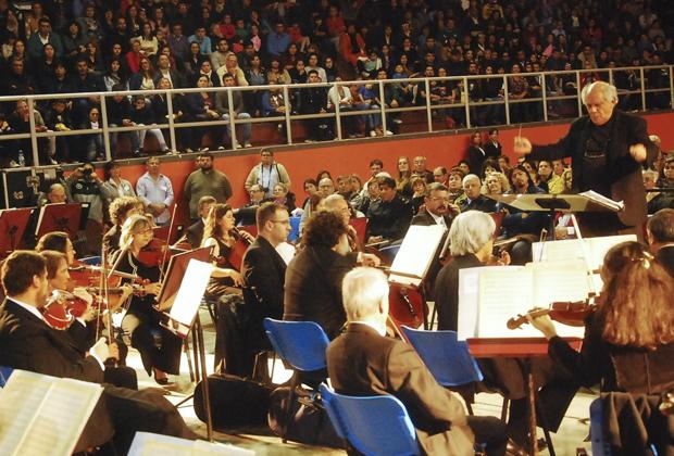 Un inolvidable concierto de la Orquesta Sinfónica Nacional