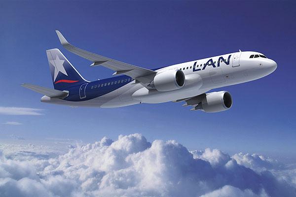 LAN podrá viajar desde Aeroparque a Brasil y a Chile