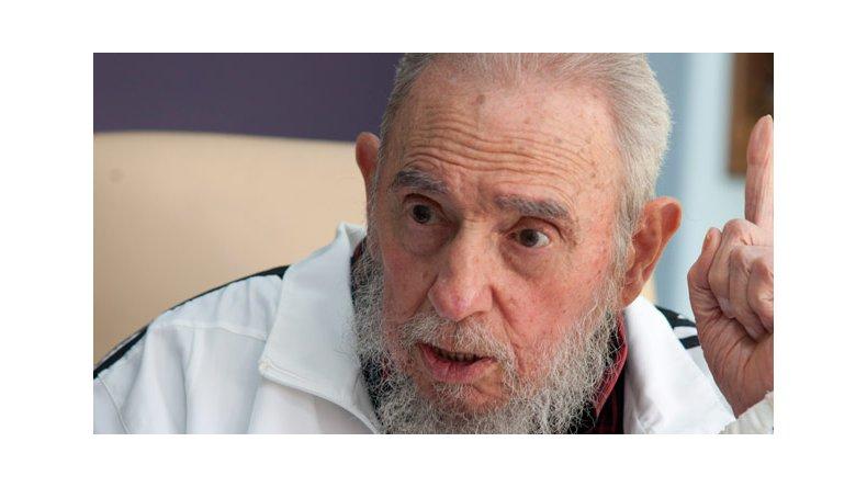 Luego de 9 meses, Fidel Castro apareció en un acto