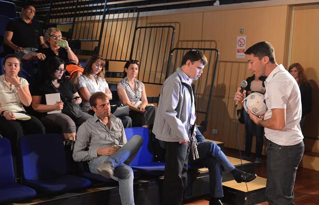 Gonzalo Vilariño brindó una charla motivacional en el Centro Cultural