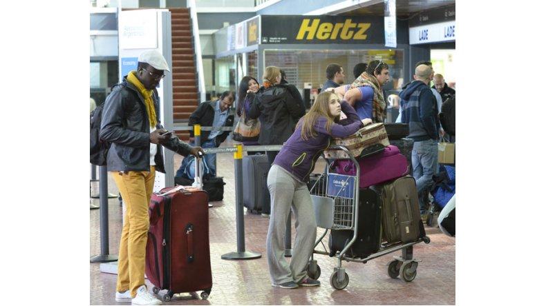 Tensión en el Aeropuerto por vuelos cancelados de LAN