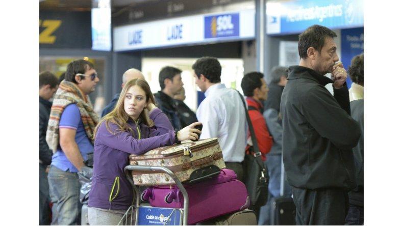 Los pasajeros varados finalmente viajan rumbo a Buenos Aires