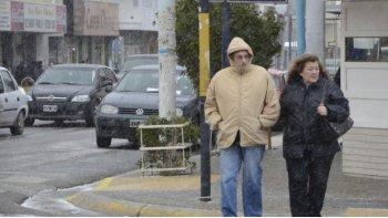 siguen los dias frios y nublados en la ciudad