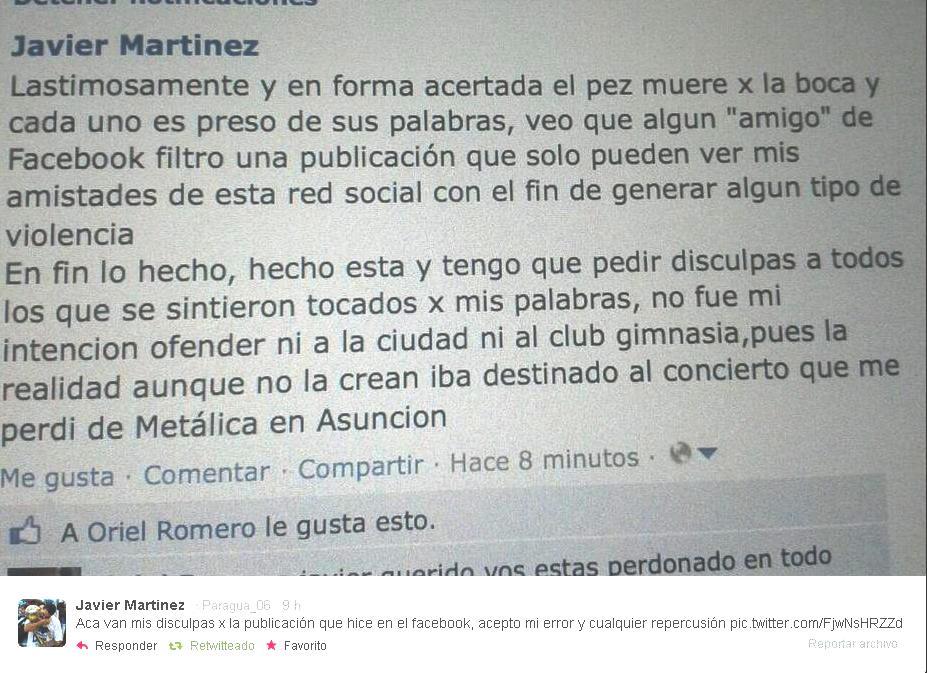 Los jugadores de San Lorenzo se retiran resignados