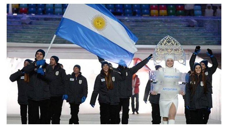Escándalo en la delegación argentina en Sochi 2014