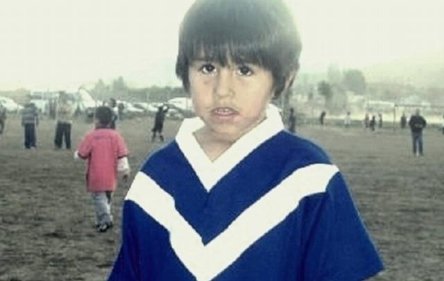"Claudio Ñancufil, el pequeño ""Messi de Bariloche"""