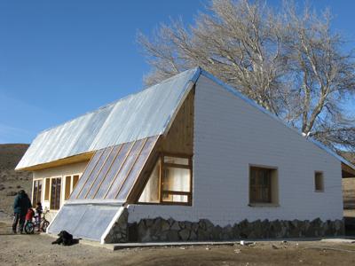 Construyeron más de 100 casas bioclimáticas en Chubut