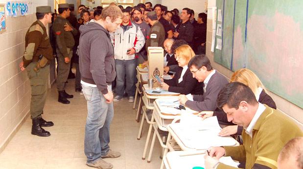 El domingo cierran los padrones provisorios en Chubut