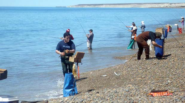 Los pescadores se reencuentran con su pasión en Bahía Solano