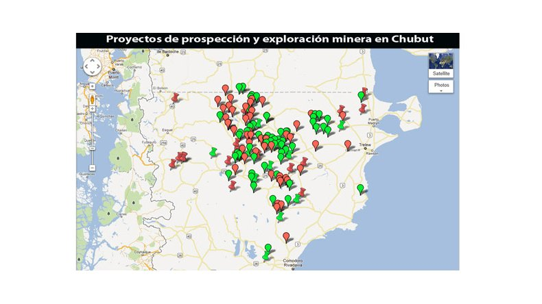 En Chubut hay 135 proyectos mineros que están en marcha