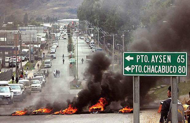 La protesta de Aysén amenaza con extenderse a otras regiones de Chile
