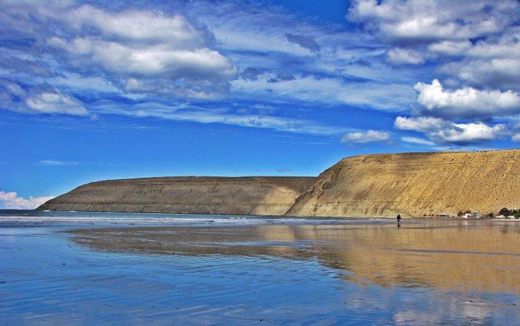Las playas deComodoro Rivadavia