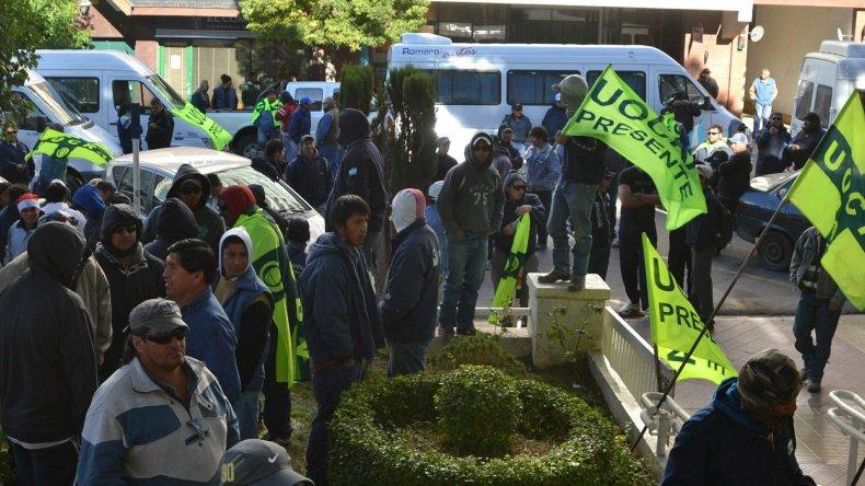 Despidieron a 92 trabajadores de UOCRA Comodoro