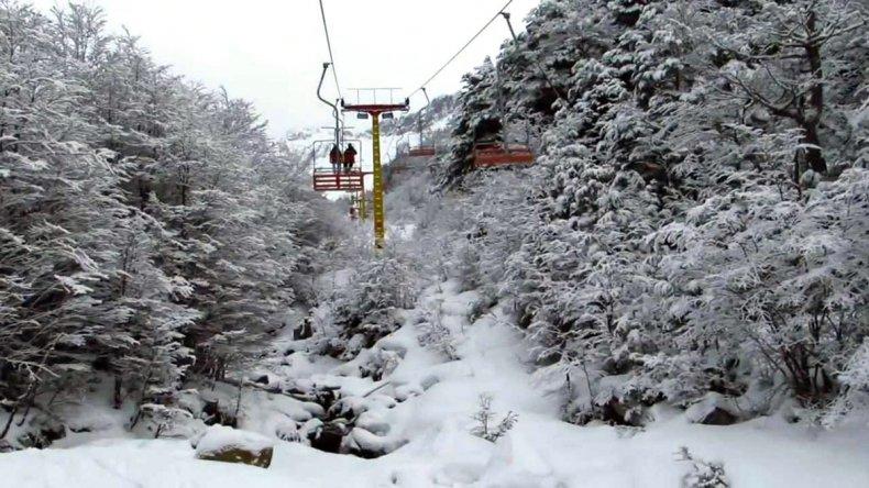 En pleno diciembre, nieva en Ushuaia