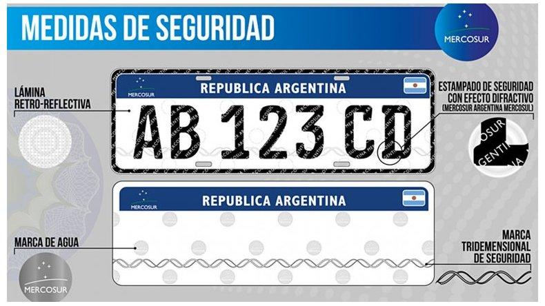 Hoy entra en vigencia la nueva Patente Mercosur