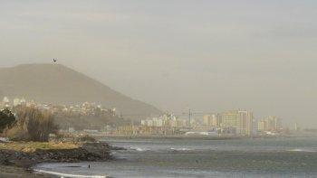 Fin de semana ventoso en Comodoro