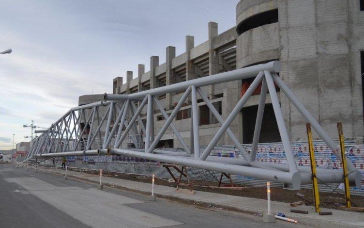 Buscan reactivar  y terminar en un  año la obra del  Estadio Centenario