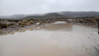 no hay evacuados en chubut por la emergencia climatica