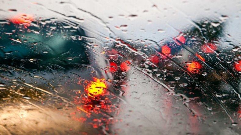 Llueve en Comodoro y alrededores