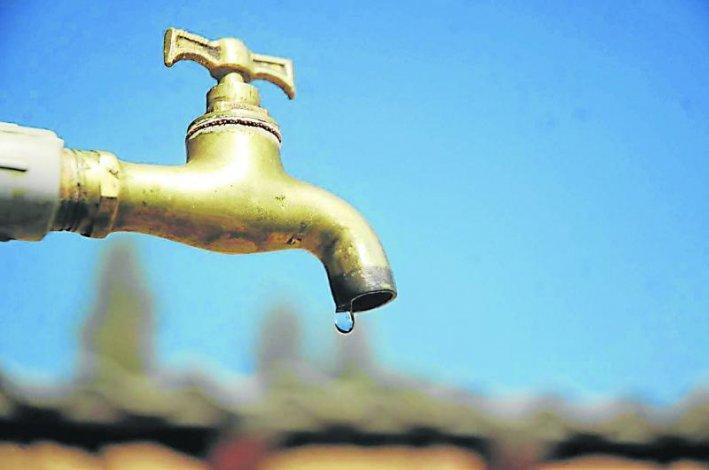 Para recuperar reservas se viene un corte de agua