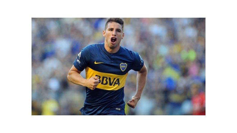 Jonathan Calleri será esta tarde titular en la formación de Boca.