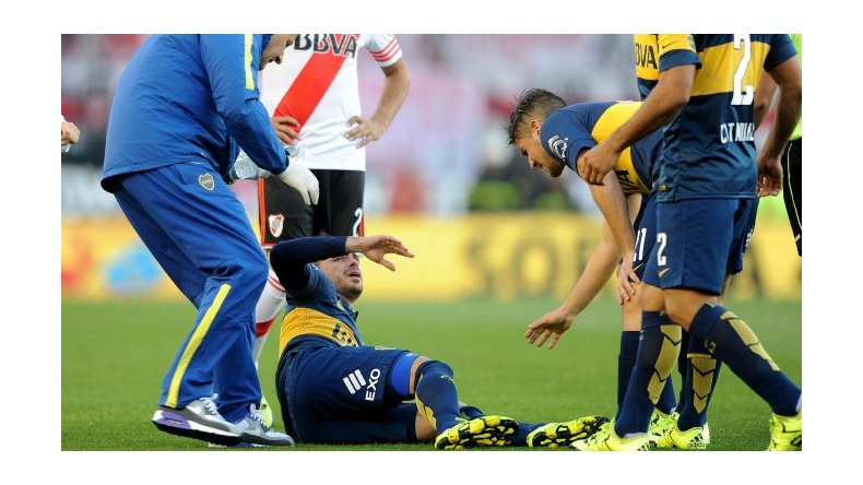 Fernando Gago se rompió el tendón de Aquiles y estará seis meses afuera