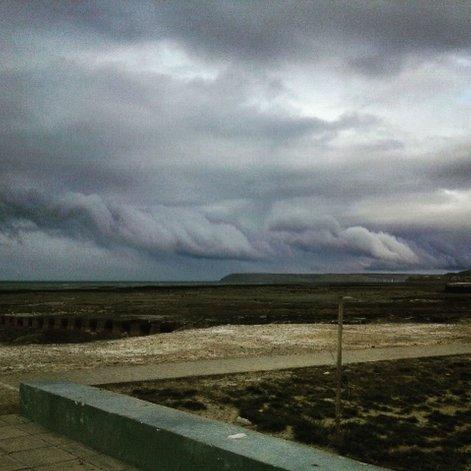 Lunes nublado y probabilidad de lluvias