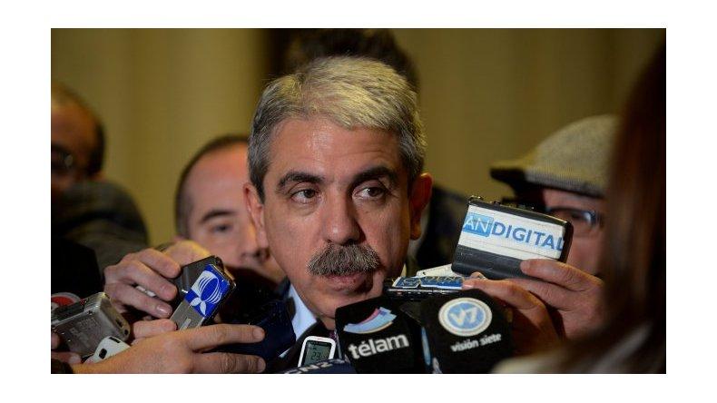 Aníbal Fernández: no conozco a Pérez Corradi