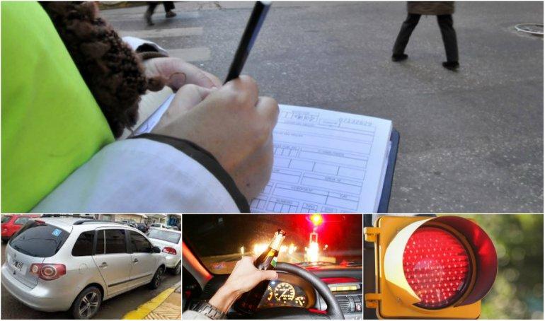 Las infracciones de carácter leve encabezaron el ránking de multas
