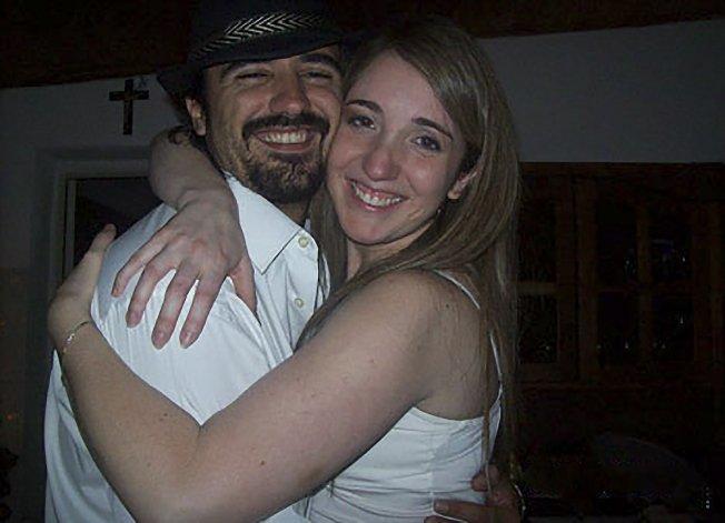 Domingo Expósito Moreno junto a Carolina Gayá