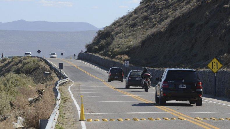 Estará interrumpido el tránsito en el camino Perón