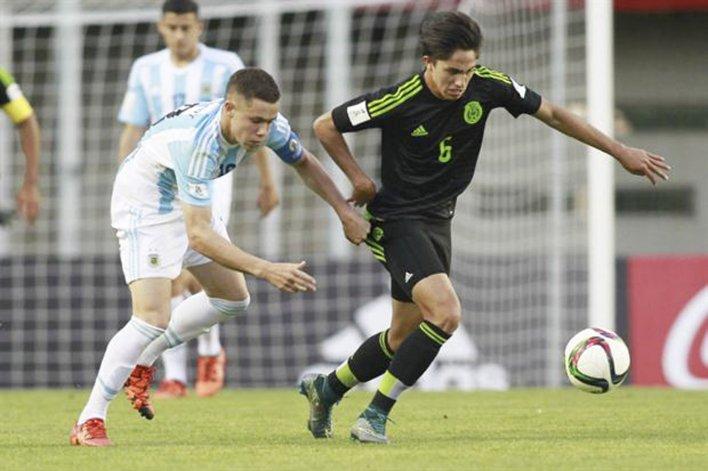 Argentina sub-17 Pierde vs Alemania.