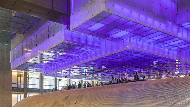 El centro cultural n stor kirchner se convirti en un for Sala imperdible