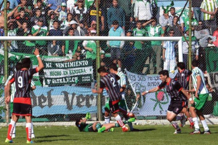 En el tercer minuto adicionado encontró el gol el defensor Ezequiel Llesona