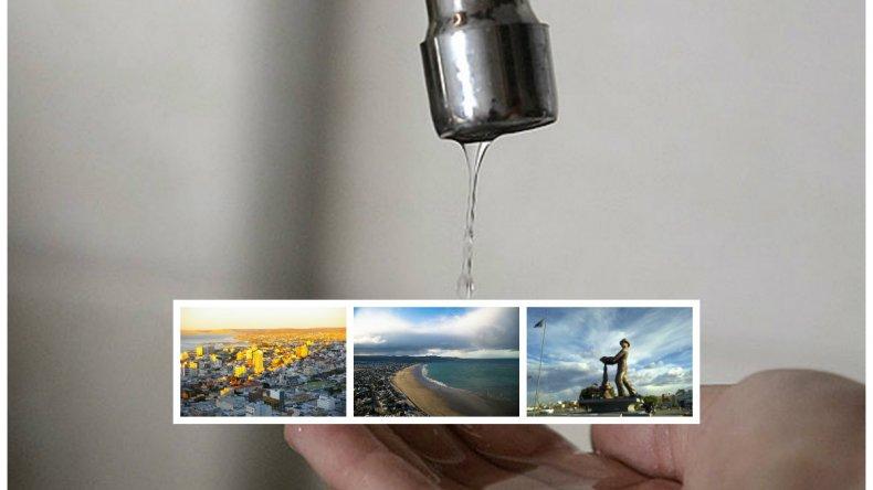 Continúan los cortes: sin agua en Comodoro, Rada Tilly y Caleta Olivia por 24 horas