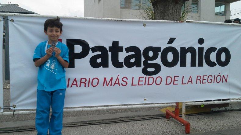 Los más pequeños fueron la antesala de la cuarta edición de la carrera más federal del país. Angel Romero / elPatagónico.