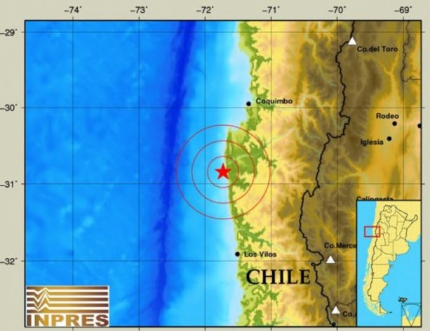 Un nuevo sismo, ahora de 5.5 grados, afectó a Chile