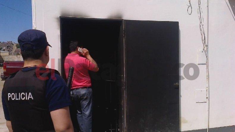 Investigan el incendio de un cajero automático en las 1.008