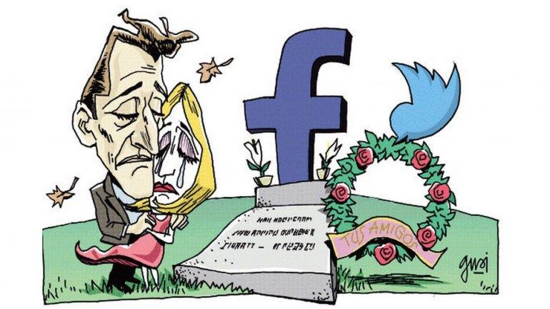 Facebook, otro punto de encuentro con familiares y amigos fallecidos