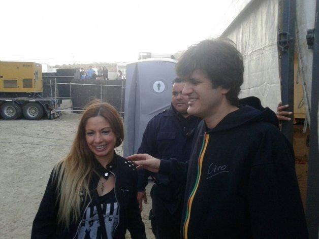 Los ganadores del Meet&Greet conocieron a Ciro y los músicos