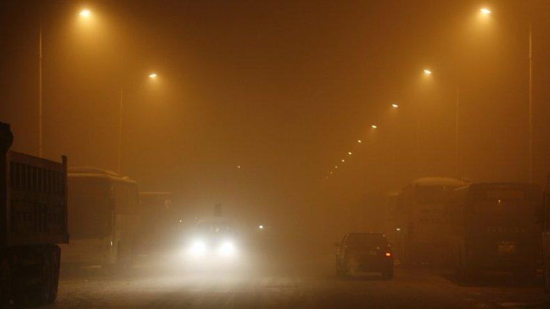 Las imágenes que alarman al mundo: grave contaminación en China