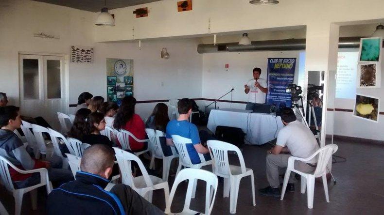 El Club de Buceo Neptuno hizo interactuar al mar con la comunidad