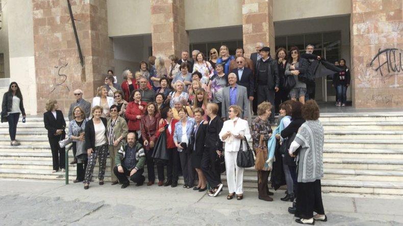 Bodas de oro para la promoción 1965 del colegio Perito Moreno