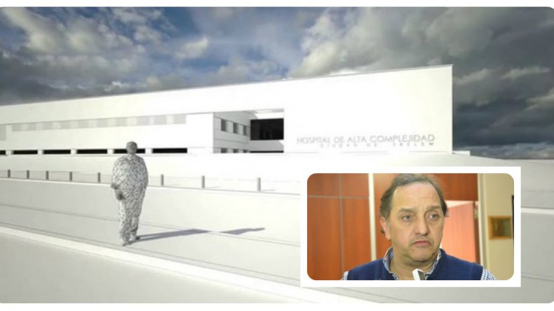 Los nuevos hospitales para Comodoro y Trelew no se construirán en el 2016
