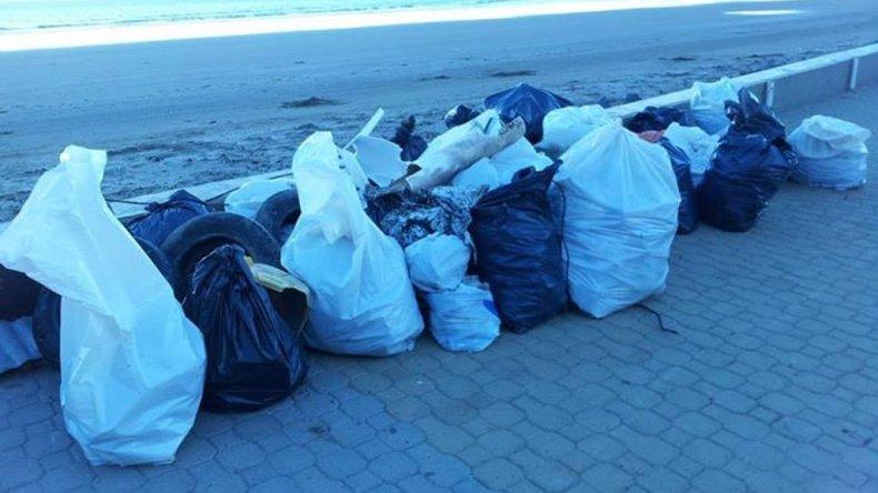 En Comodoro solo hay tres playas aptas para la recreación