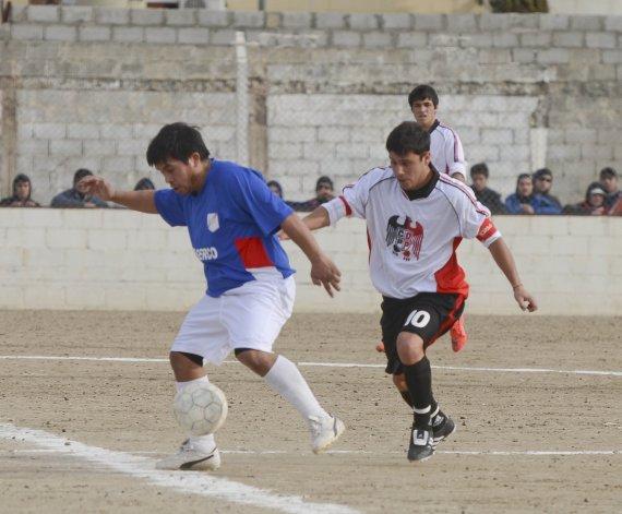 Palazzo y Ciudadela se enfrentaron en la segunda fecha y empataron 1-1.