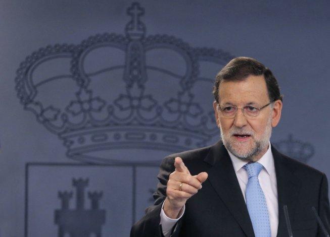 Mariano Rajoy impugnó el proceso independentista de Cataluña.