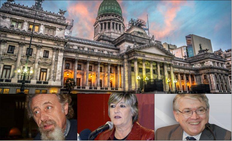Hoy juraron los tres senadores de Chubut