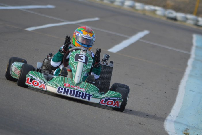 Renzo Blotta correrá este fin de semana en el campeonato Pako por primera vez.
